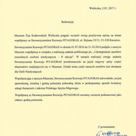 Muzeum Żup Krakowskich Wielczka